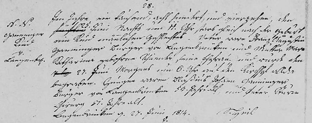 1814 - Tod Ganninger, Kind maennlich