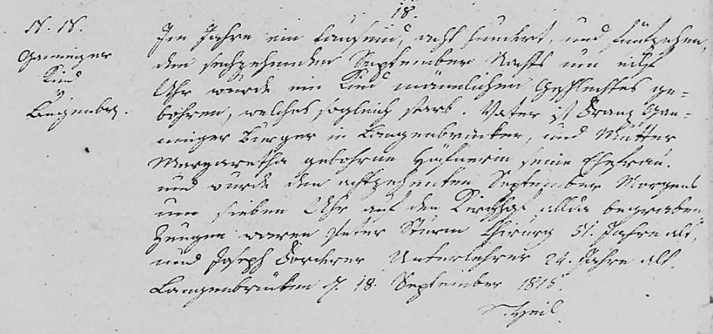 1815 - Tod Ganninger, Kind maennlich