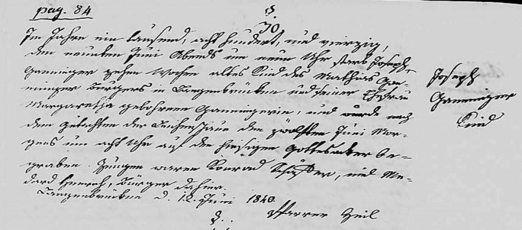 1840 - Tod Ganninger, Joseph