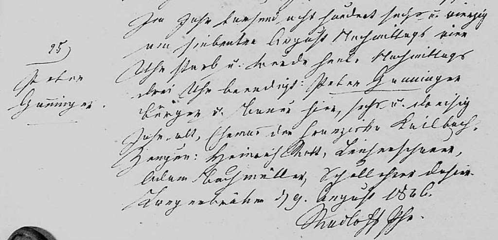 1846 - Tod Ganninger, Peter