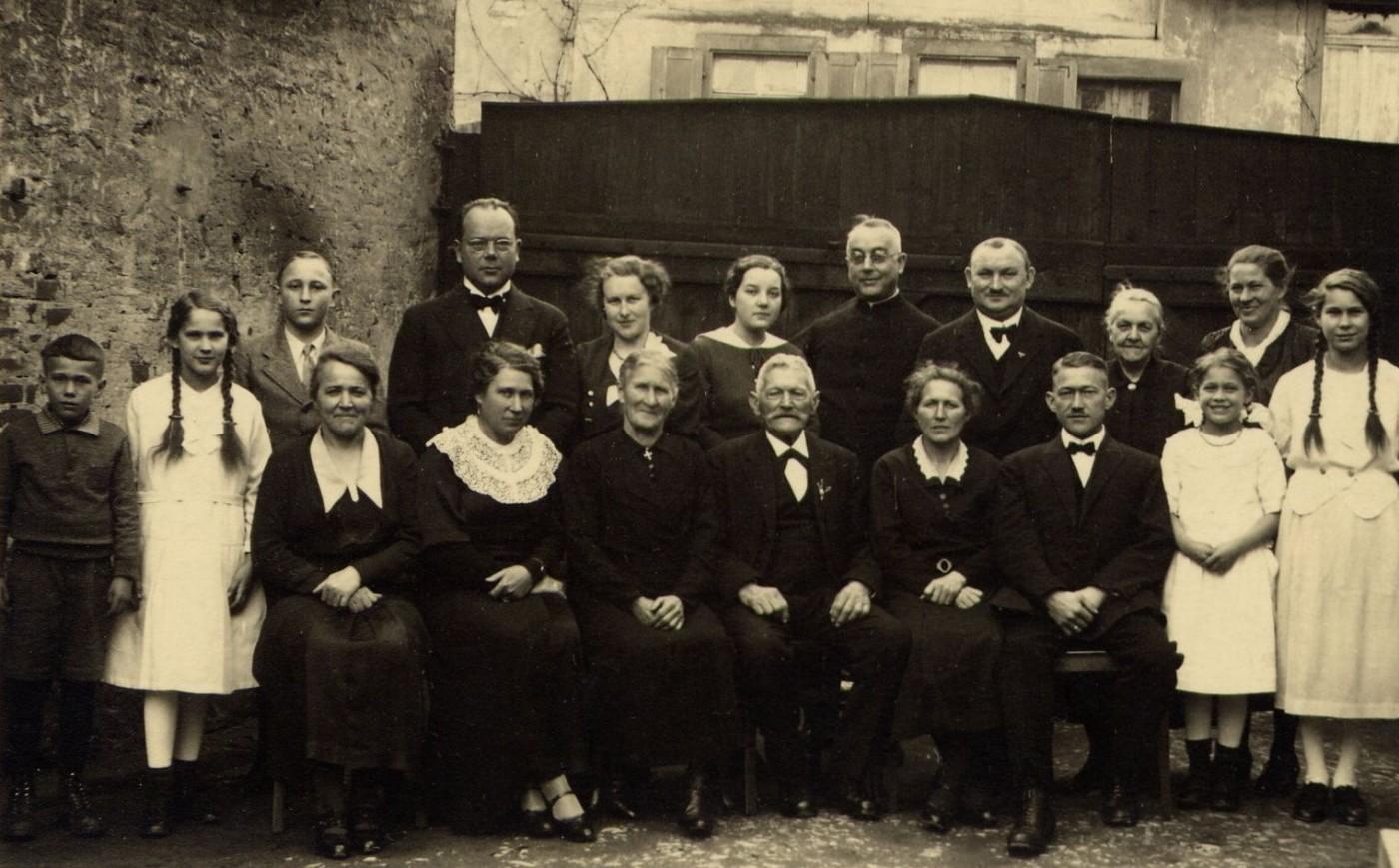 Familie Ganninger um 1940